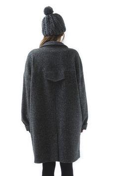 Oversized Coat | beautiful shape and back detail
