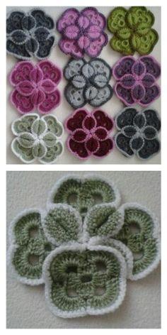 Butterfly Noelani Crochet pattern by Island Style Crochet Crochet Flower Patterns, Crochet Motif, Crochet Doilies, Crochet Flowers, Crochet Stitches, Crochet Home, Crochet Crafts, Yarn Crafts, Crochet Projects