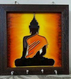 Budha Painting, Worli Painting, Glass Painting Patterns, Glass Painting Designs, Clay Wall Art, Art Drawings For Kids, Buddha Art, Art Corner, Modern Art Paintings