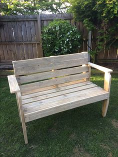 Pallet Bench Seat for 2-3 peaople  You can check out my other listings by clicking this link here, and if you like my products feel free to add me as a favourite seller.   http://www.trademe.co.nz/Members/Listings.aspx?searchtype=SELLER&   member=1408573   Thank you for checking out this auction