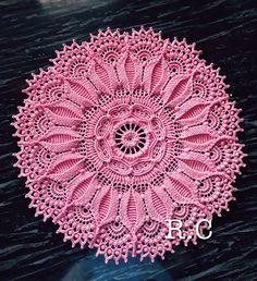 Best 12 Irina's wall photos – SkillOfKing. Crochet Circle Pattern, Crochet Bracelet Pattern, Crochet Doily Rug, Free Crochet Doily Patterns, Crochet Doily Diagram, Crochet Circles, Crochet Tablecloth, Crochet Home, Crochet Designs
