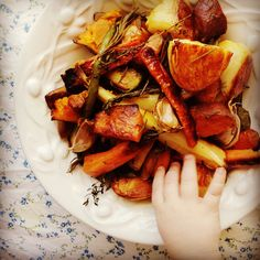 Even though we celebrate Christmas in the middle of an Australian summer, gorgeous golden crispy roasted vegetables are still a must on our festive table. But rather than enjoying them straight fr...