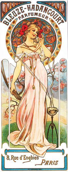 Boulevard de L'antique: Art Nouveau Illustration