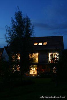 Ein Schweizer Garten: Nachts sind alle Katzen grau...