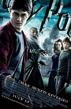 Harry Potter and the Half Blood Prince (2009) - De Filmposter