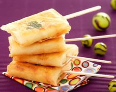 Bricks de fromage frais à la coriandre (avec autre chose que du kiri peut-être...)