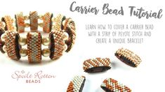 Even Count Peyote Stitch Carrier Bead Tutorial