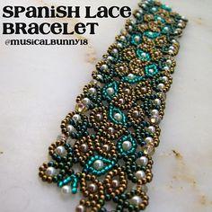 Unfinished Spanish Lace Bracelet (pattern by Jaycee Patter… | Flickr