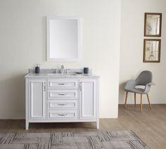 """Jude 48"""" Single Bathroom Vanity Set"""