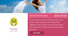 Cancer horoscope for 2015/10/24. Is it accurate? Pin=Yes | Favorite=No