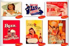 Placas Decorativas Retro Vintage Cerveja Sexy Frete Grátis ! - R$ 9,90 no MercadoLivre