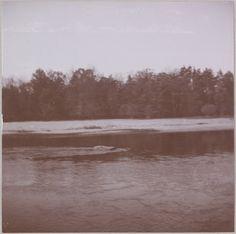 Spala 1912: Vista do rio em Spala.