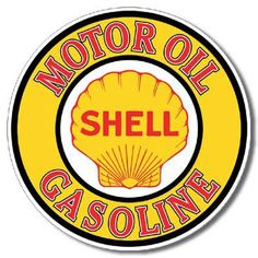 Shell Gas and Oil Sign