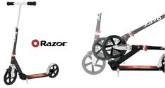 Check Razor lux kick scooter in black from the best folding scooter for 8 years old and above boys and girls and adults. Kids Ride On Toys, 8 Year Old Boy, Kick Scooter, 8 Year Olds, Old Boys, Scooters, A5, Cool Kids, Boy Or Girl