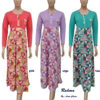 RAHMA Daster Panjang / Gamis Eksklusif /Baju Muslim Murah Anne Claire