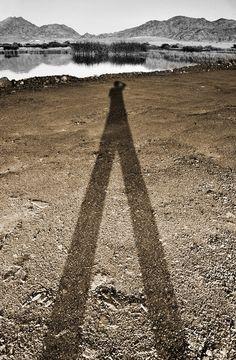 My own shadow