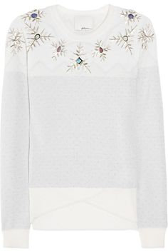 3.1 Philip Lim sweater great idea to DIY a white tee