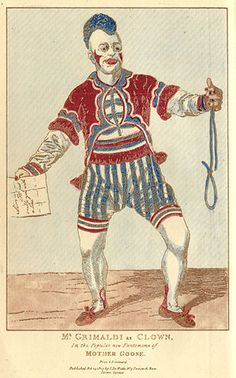 Joseph Grimaldi, The most famous and celebrated of English clowns