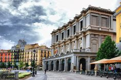 Madrid - Plaza de Oriente. Teatro Real. | Flickr: Intercambio de fotos