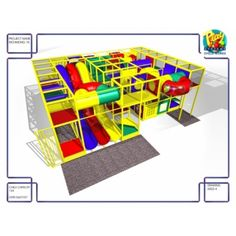 Indoor Playground, Playgrounds, Store, Model, Home Decor, Decoration Home, Room Decor, Play Areas