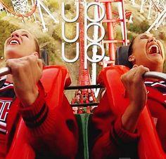 Gyaaaaaa!!!! LOL  Santana's was like screaming all the time