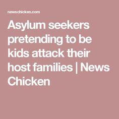 """Asielzoekers welke zich voordoen als kinderen vallen hun """"pleegouders"""" aan"""