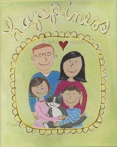 Lovely little family portrait