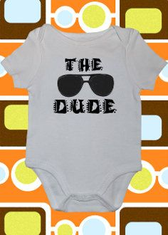 The Dude, The Big Lebowski Onesie or Toddler Tee