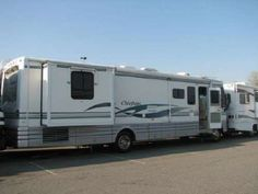 2001 Winnebago Chieftain -In excellent condition with 2 slide outs, Powered by a Ford Triton V10. INTERIOR FEATURES: Full kitchen, Walnut cabinets, Top/Bottom fridge, Updated floors, Vinyl/Carpet floors, Washer/Dryer combo, 2 TVs, VCR, CD/Cassette, Sound system, Shower - See more at: http://www.rvregistry.com/used-rv/151970.htm