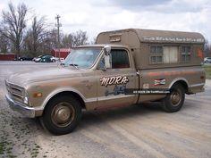 1968 Chevy C20 Vintage Camper Nhra Push Truck Rat Rod Gasser Other Pickups Photo