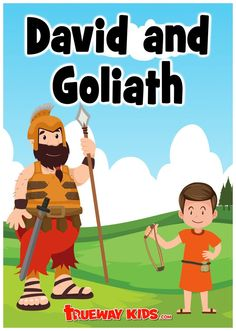 In this free printable David and Goliath Bible lesson for kids we will explore 1 Samuel 17 through Bible activities and games, free printable worksheets and Bible coloring pages, worship songs, lesson ideas and more. Toddler Bible Lessons, Preschool Bible Lessons, Bible Activities For Kids, Bible Stories For Kids, Bible Lessons For Kids, Bible For Kids, David And Goliath Craft, David Und Goliath, David And Goliath Story
