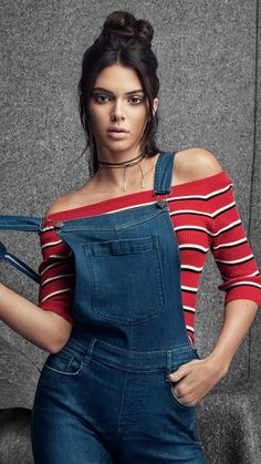 Kendall Jenner, jeans outfit, 2018, 720x1280 wallpaper