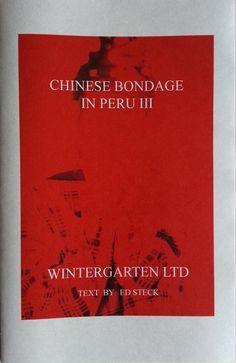 Chinese Bondage in Peru III
