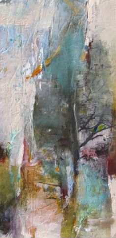 "Contemporary Artists of Colorado: Abstract Mixed MediaPainting ""Renewal"" by Intuitive Artist Joan Fullerton"