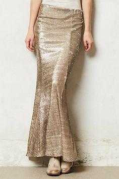 Sirene sequin skirt