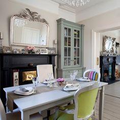 Esszimmer Wohnideen Möbel Dekoration Decoration Living Idea Interiors home dining room - Moderne Französisch-Stil Esszimmer