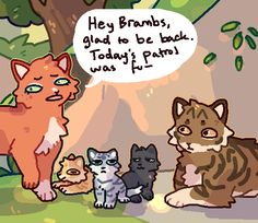 Warrior Cat Names, Warrior Cats Funny, Warrior Cats Comics, Warrior Cats Series, Warrior Cat Drawings, Warrior Cats Fan Art, Cat Comics, Warriors Memes, Love Warriors