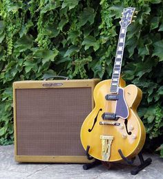 '55 Gibson L-5 (with '60 Fender Bassman)