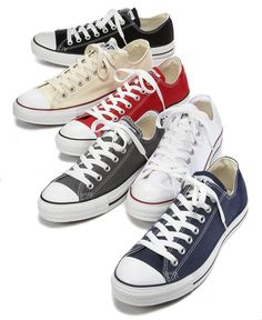 Converse Mens Chuck Taylor All Star Sneakers from Finish Line - Shoes - Men - Macys Mode Converse, Estilo Converse, Converse Sneakers, Converse All Star, Sneakers Fashion, Converse Classic, Sneakers Sale, Black Sneakers, Outfits