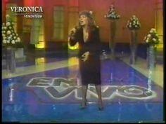 Presentación de Verónica Castro en el programa En Vivo conducido por Ricardo Rocha a su regreso triunfal de Italia.