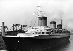 S.S. Normandie. Built by the French Line in Saint-Nazaire, France in 1935, was considered by many even today to be one of the most luxuriously outfitted vessels ever to sail on the Atlantic route. Was in New York during World War II, and having been taken over by the US, was converted to be a troop transport, much like her Cunard rival Queen Mary was. However, due to a massive fire during the conversion process, Normandie(renamed Lafayette) took on too much water, capsized, and sold for…