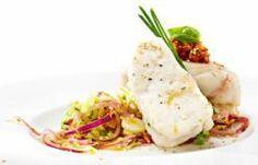 Tranches de Pescada com Pesto de Tomate - Consultem esta deliciosa receita e ajudem-me a ganhar um Tablet na Promoção Poupar e Ganhar, só com a Pescanova.