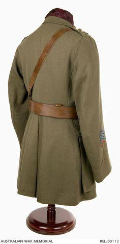 Khaki service dress tunic : Major General