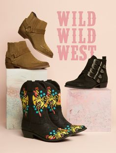 Take your wardrobe to the Wild West with a pair of women's cowboy boots. Order your western boots for women by for Next Day UK Delivery. Cowboy Boots Women, Western Boots, Westerns, Ankle Boots, Pairs, Shoes, Style, Fashion, Ankle Booties