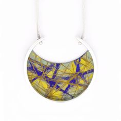 Jean-Yves Nantel, Canada: Sterling Silver and Titanium Pendant