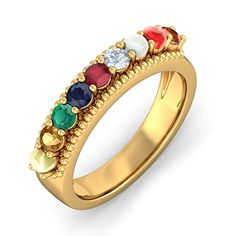 ac2c703752698 15 Best Navratna Jewelry images in 2019 | Gemstones, Jewelry, Gold