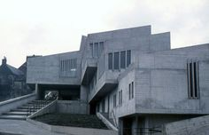 Durham University Student Union oh my gosh look at it Laubach Durham University, St Johns College, Students' Union, Brutalist, Britain, Cathedral, Places To Go, Multi Story Building, England