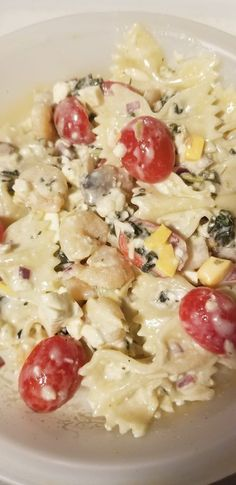 This Pasta is great as a salad or make a little more for a main dish.