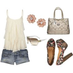 summer, created by rilo3079 on Polyvore
