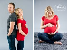 Studio Maternity Photo Shoot in Edmonton, AB | Edmonton Newborn Maternity Baby Family Photographer